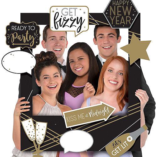 Giant Customizable New Year's Photo Frame Kit Image #1
