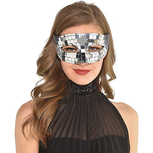 Disco Ball Masquerade Mask Image #2