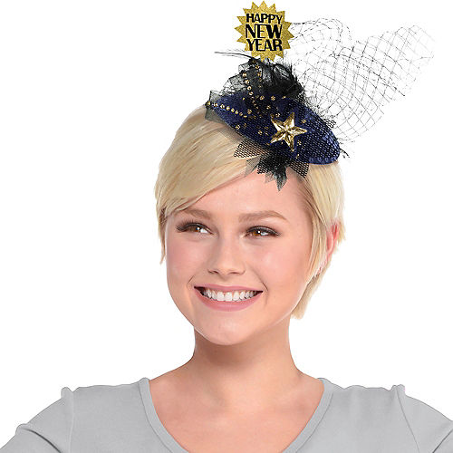 Clip-On Happy New Year Couture Hat Image #1
