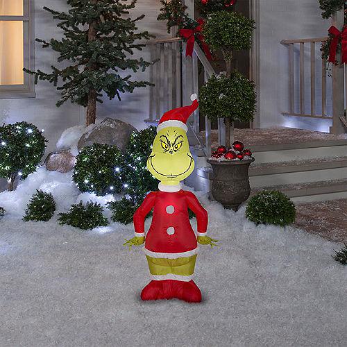 Inflatable Santa Grinch Image #2