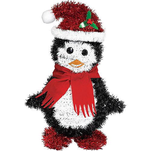 Tinsel Penguin Santa Image #1