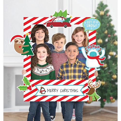 Giant Customizable Christmas Photo Frame Kit Image #1