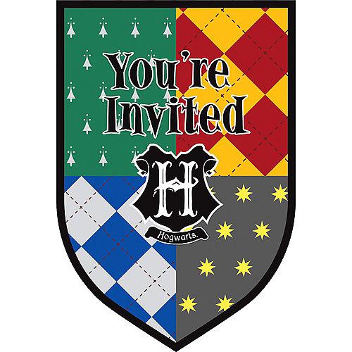 Harry Potter Invitations 8ct Image #1