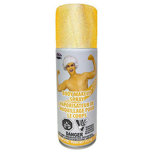 Gold Body Makeup Spray Image #1
