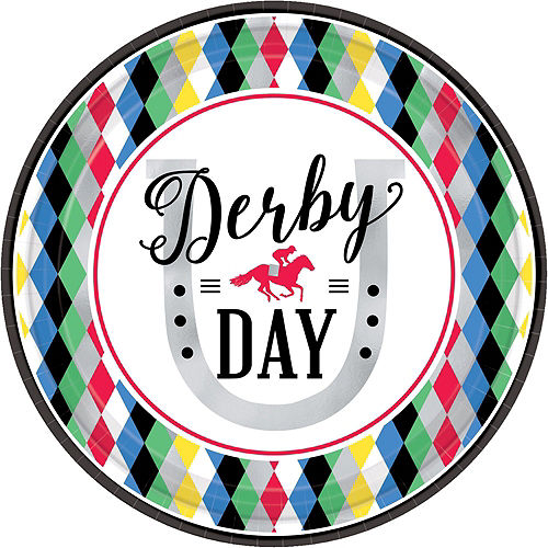 Kentucky Derby 147 Tableware Kit for 8 Guests Image #3