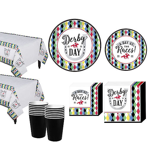 Kentucky Derby Party Kit for 16 Guests Image #1