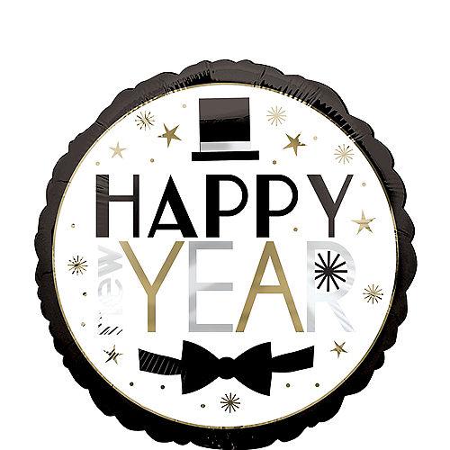 Dapper Night Happy New Year Balloon Image #1