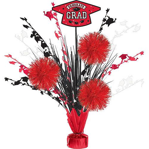 Super Congrats Grad Red Graduation Party Kit for 54 Guests Image #9