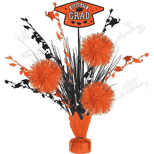 Super Congrats Grad Orange Graduation Party Kit for 54 Guests Image #9