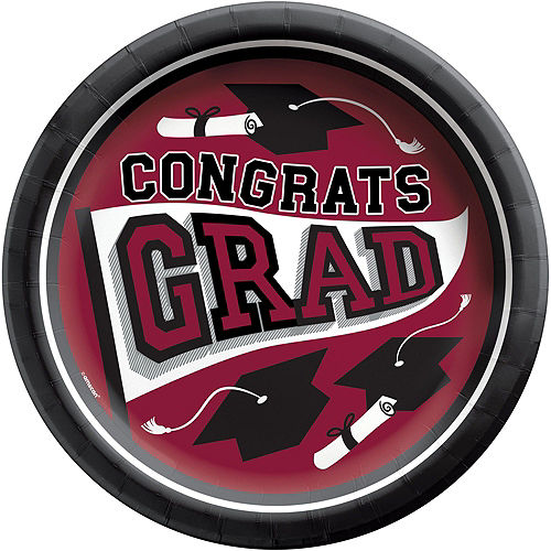 Super Congrats Grad Berry Graduation Party Kit for 54 Guests Image #5