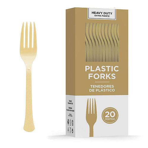 Congrats Grad Gold Graduation Tableware Kit for 18 Guests Image #9