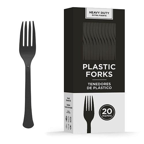 Congrats Grad Silver Graduation Tableware Kit for 18 Guests Image #9
