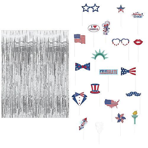 Patriotic Photo Booth Kit Image #1