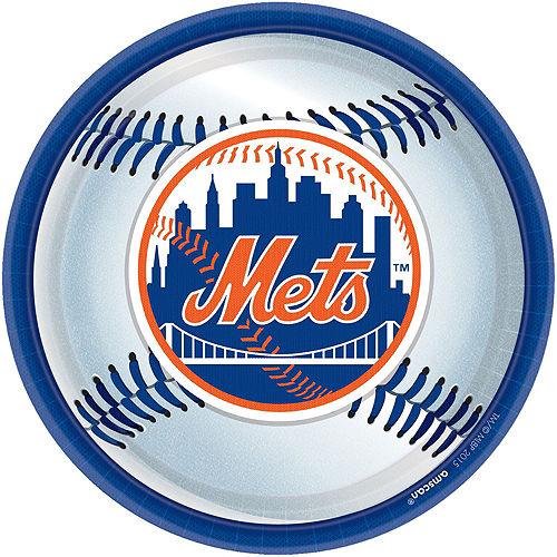 Super New York Mets Party Kit for 36 Guests Image #2
