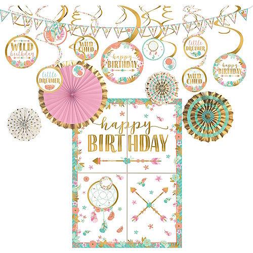 Boho Girl Decorating Kit Image #1
