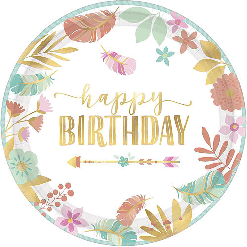 Boho Girl Birthday Party Kit for 16 Guests Image #3