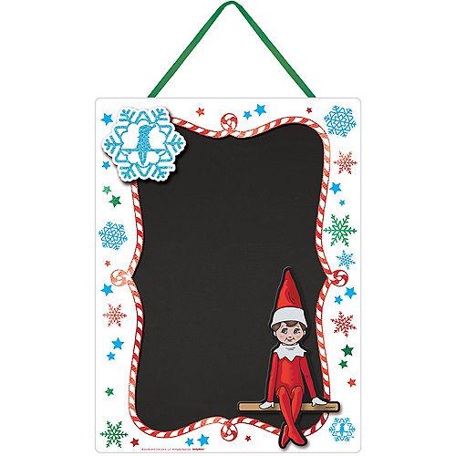Elf on the Shelf Chalkboard Sign, 10.25in x 14in Image #1