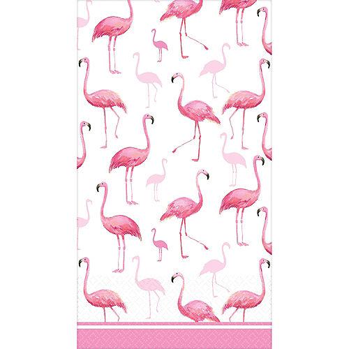 Flamingo Flock Guest Towels 16ct Image #1