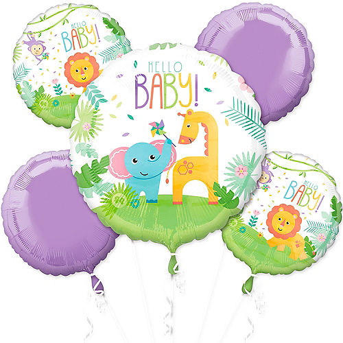 Fisher-Price Hello Baby Shower Balloon Bouquet 5pc Image #1
