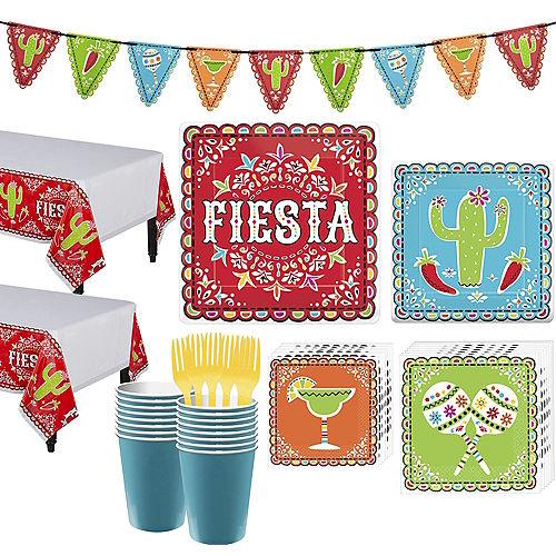 Papel Picado Cinco de Mayo Party Kit for 36 Guests Image #1