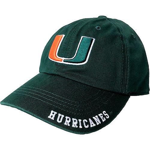 Miami Hurricanes Baseball Hat Image #1