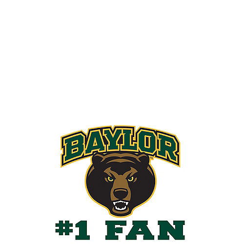 Baylor Bears #1 Fan Decal Image #1