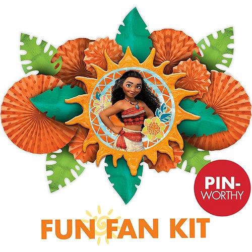 Moana Fun Fan Kit Image #1
