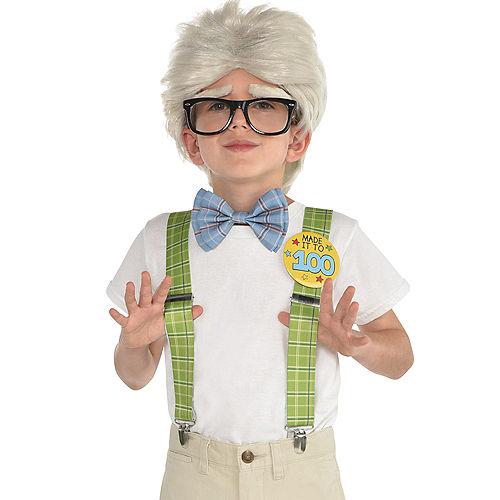 Boys 100th Day of School Grandpa Costume Accessory Kit Image #1