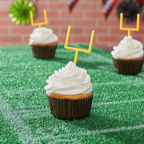 Field Goal Post Cupcake Picks 36ct Image #2