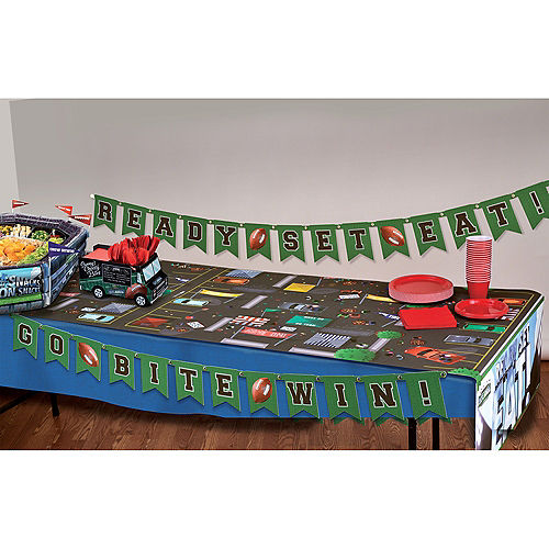 Sunny Anderson's Football Table Runner & Banner Kit 4pc Image #2