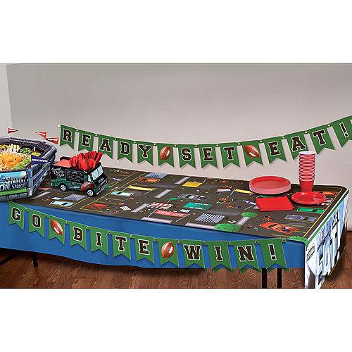 Sunny Anderson's Football Table Runner & Banner Kit 4pc Image #2