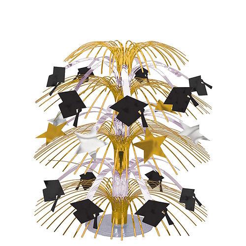 Super Congrats Grad Gold Graduation Party Kit for 54 Guests Image #9