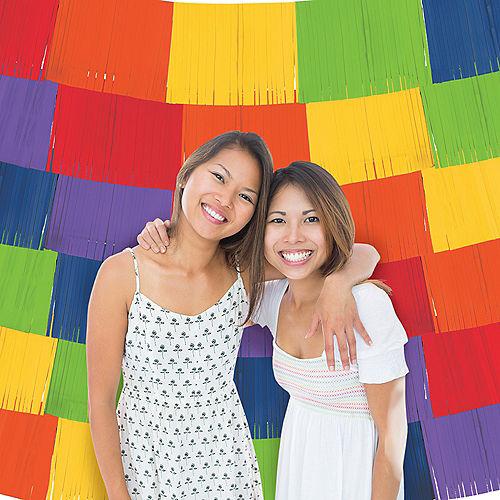 Rainbow Fringe Banners 9ct Image #1