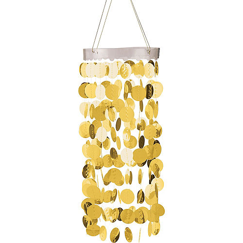 Gold Circle Chandelier Image #1