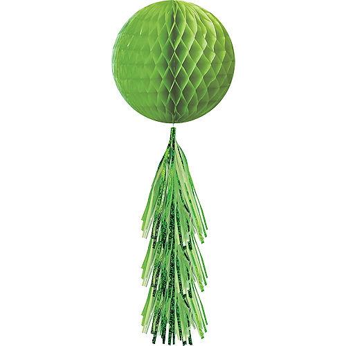 Kiwi Green Honeycomb Ball with Tail Image #1