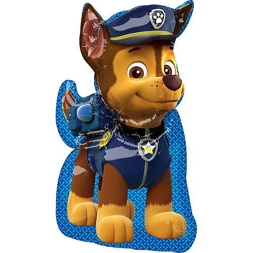 Chase Foil Balloon, 31in - PAW Patrol Image #1