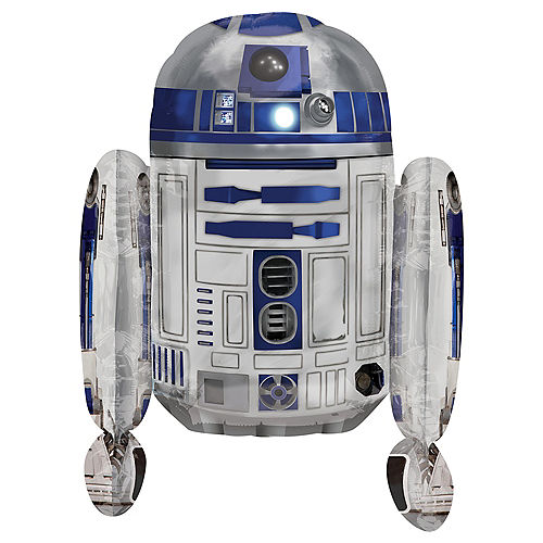 R2D2 Balloon - Star Wars, 26in Image #1