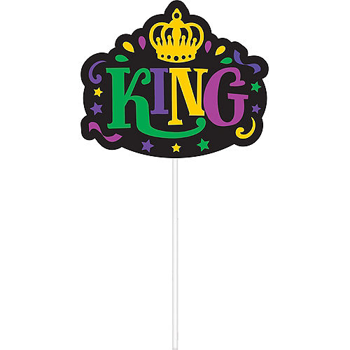 King & Queen Mardi Gras Float Kit 26pc Image #5