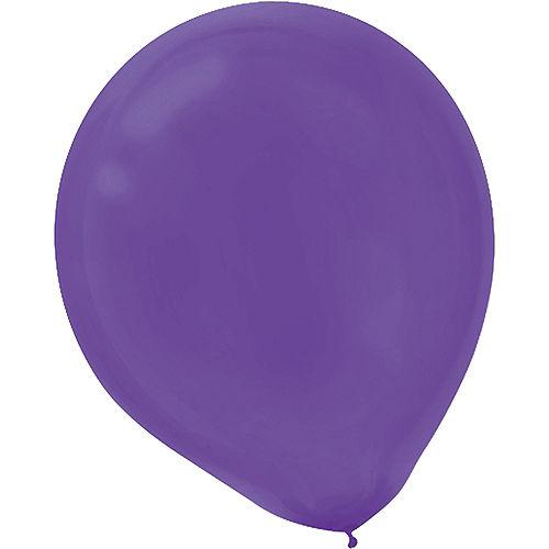 Good Times Mardi Gras Balloons 72ct Image #6