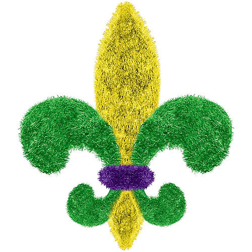 Mini Tinsel Fleur-de-Lis Image #1
