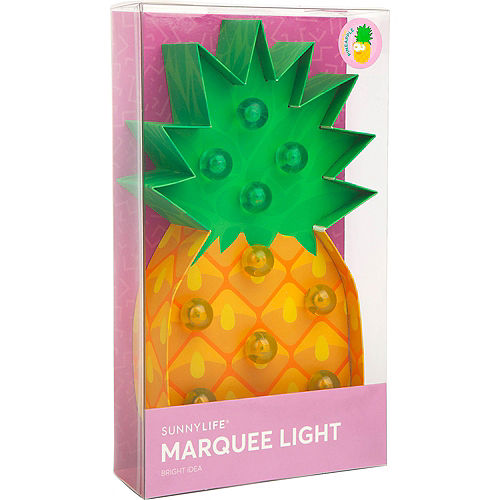 Light-Up Pineapple Marquee Sign Image #3