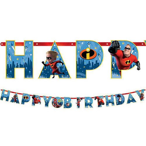 Ultimate Incredibles 2 Party Kit for 16 Guests Image #13