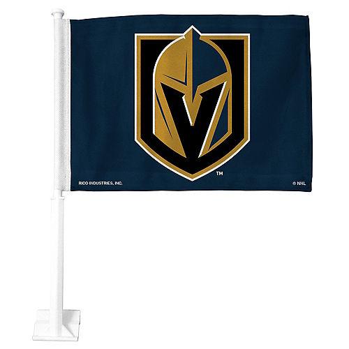 Vegas Golden Knights Car Flag Image #1