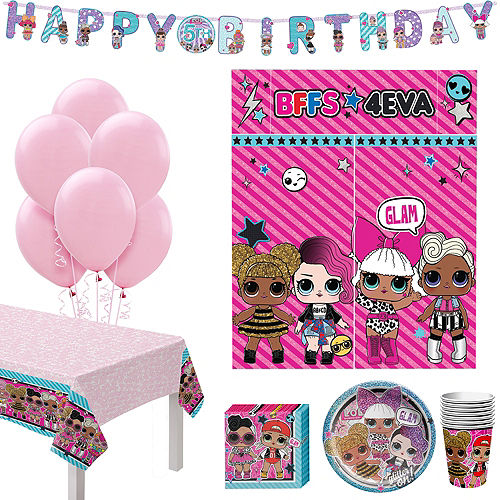 L.O.L. Surprise! Birthday Party Kit for 8 Guests Image #1