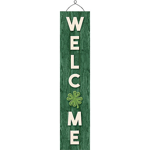 Rustic St. Patrick's Day Welcome Sign Image #1