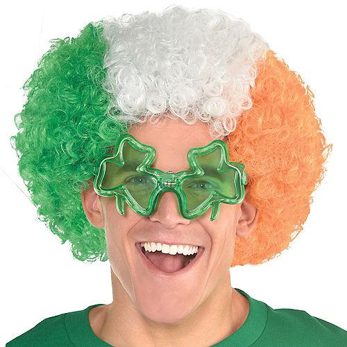 Irish Flag Curly Wig Image #1