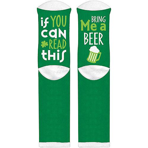 Adult Bring Me a Beer Socks Image #1