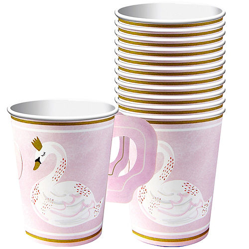 Swan Cups with Handles 8ct Image #1
