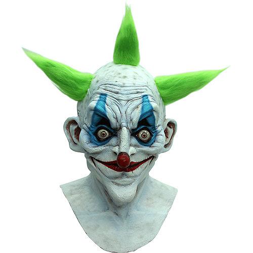 Creepy Old Clown Mask Image #1