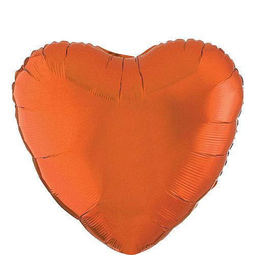 Giant Rainbow Open Heart Balloon Kit 7pc Image #4